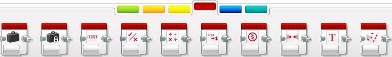 Червона палітра - операції з даними