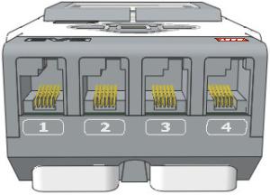 Порти підключення датчиків