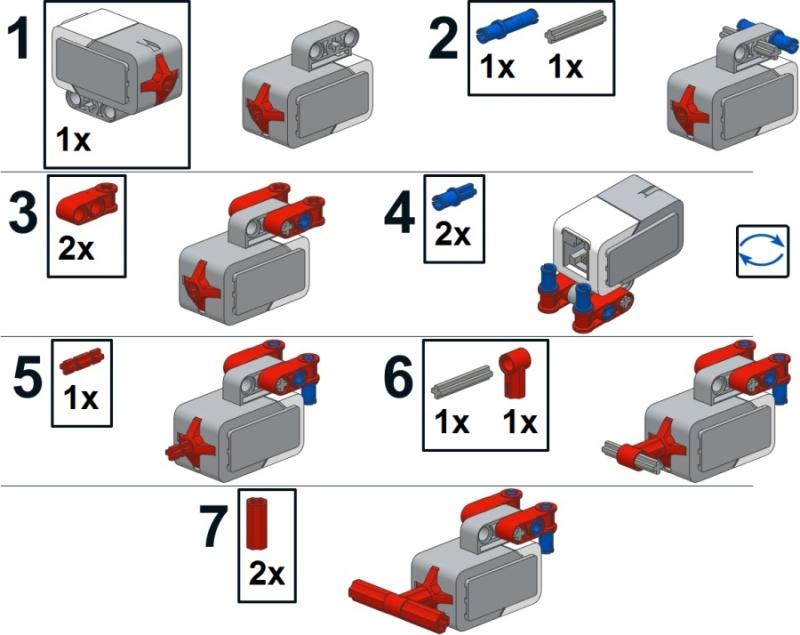Mindstorms инструкция по сборке лего