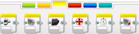 Желтая палитра. Домашняя версия среды программирования
