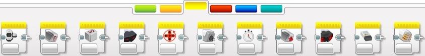 Жовта палітра. Освітня версія середовища програмування