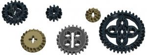 Шестерні конструктора Lego mindstorms