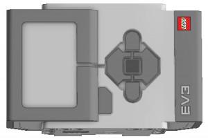 Основний модуль конструктора Lego mindstorms