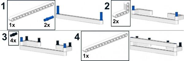 Інструкція по збірці для освітньої версії конструктора